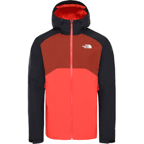 The North Face Stratos Giacca Uomo, flare/TNF black/brandy brown